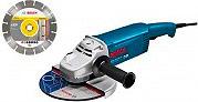 Bosch 0.601.850.L06 Smerigliatrice angolare 2000 Watt ø Disco 115 mm  GWS20-230H