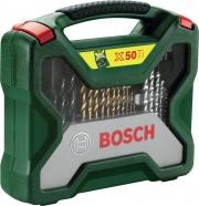 Bosch Set punte Trapano 50 pezzi Metallo Muro Legno X-50 TITANIUM 2.607.019.327