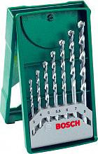 Bosch 2607019581 Set Punte Trapano per Muro 7 Pz Misure da 3  8 mm