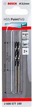 Bosch 2608577160 Coppia Punte professionali per trapano Metallo 3.5 x 70 (39) mm