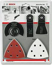 Bosch Set di Accessori per Utensili PMFGOP 23 pezzi Legno Metallo 2.608.661.694