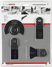 Bosch Set di Accessori per Utensili PMFGOP 4 pezzi Legno Metallo 2.608.661.696
