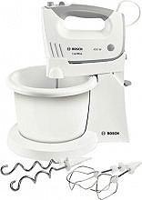 Bosch Sbattitore Elettrico Mixer con Ciotola 450W Bianco MFQ36460 ErgoMixx