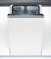 Bosch SPV24CX01E Lavastoviglie Slim Incasso Scomparsa totale 9 Coperti A+ 45 cm