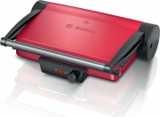 Bosch TCG4104 Bistecchiera elettrica Doppia piastra Antiaderente 2000 W Rosso