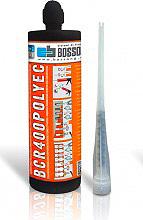 Bossong BCR400 Resina per Ancoraggio per Carichi Leggeri Medi 400 ml  Polyec