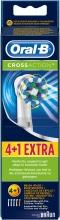 Braun EB50-4+1 Testine Oral B Cross Action Ricambio Spazzolino Elettrico EB50 4+1