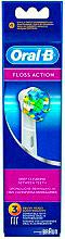Braun Testina di Ricambio Spazzolino Elettrico 3 Testine Floss Action - EBI25-3