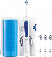Braun Idropulsore dentale Flusso Acqua Regolabile 4 Testine Oxyjet MD20.565
