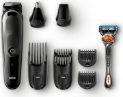 Braun MGK5060 Tagliacapelli Elettrico Regolabarba Ricaricabile Lavabile