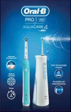 Braun PRO 1 AQUACARE Spazzolino elettrico Pro 700 + AquaCare 4 Oxyjet Kit Pro1