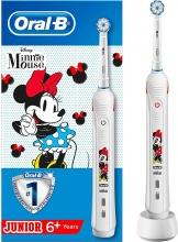 Braun PRO 2 CHITE MINNY Spazzolino elettrico per bambini controllo pressione App D501 Minnie Mouse