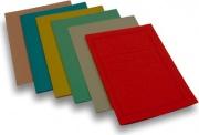 Brefiocart 0205505R Confezione 100 Cartelline Sempl Pannose Rosa