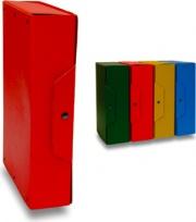 Brefiocart 020E7612R Confezione 5 Scatole Prog con Bott Dorso4 Rosso