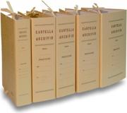 Brefiocart 020220218 Confezione 25 Faldoni con Legacci Incoll Dorso18