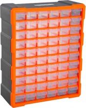 Brügel B40018 Cassettiera Box Per Accessori Minuteria Arancione 38x16x47.5 cm
