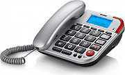 Brondi Telefono fisso Vivavoce Tasti grandi Id chiamate 10273460 BRAVO 50 LCD