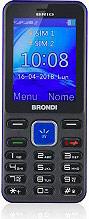 Brondi 10274081 Brio Telefono Cellulare DUAL SIM Fotocamera 1.3 Mpx GSM