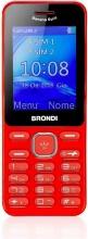 Brondi 10275090 Telefono Dual SIM Cellulare GSM Bluetooth Rosso  Banana Split