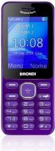 Brondi 10275092 Telefono Dual SIM Cellulare GSM Bluetooth Viola  Banana Split