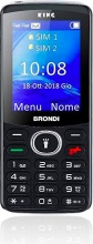 "Brondi 10276010 Cellulare Dual Sim GSM Bluetooth 2.4"" Nero  KING"