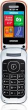 Brondi 10276042 Stone - Telefono Cellulare DUAL SIM 2.4 Pollci GSM USB Arancione