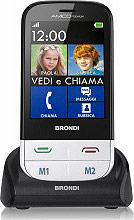 Brondi Telefono cellulare Smartphone Touch 1.3 Mpx AMICO PREMIUM - ITA