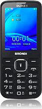 "Brondi DUKE_BLACK Telefono Cellulare Dual SIM 2,8"" 1,3 Mpx GPRS, GSM WAP Nero - Duke"