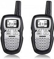 Brondi Ricetrasmittenti 8 canali 1 unità Raggio 5 Km FX COMPACT SPORT S