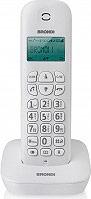 Brondi GALA Telefono Cordless Eco DECT senza Fili Funzione Sveglia Bianco