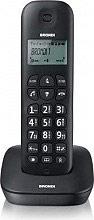 Brondi 10273720 Telefono Cordless DECT 20 Voci in Rubrica Id Chiamata Nero  Gala