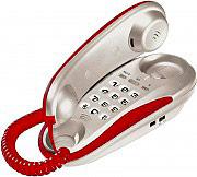 Brondi KENOBY ROSSO Telefono fisso con Filo Installabile a Muro Grigio  Rosso - Kenoby