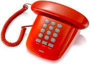 Brondi 10273083 Telefono con filo Fisso colore Rosso - Sirio