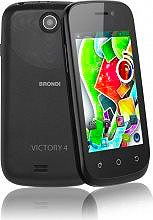 Brondi Victory 4 Smartphone Dual SIM Touch 3G WiFi GPS Android Nero ITA