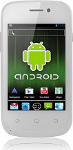 Brondi Victory 4 Smartphone Dual SIM Touch 3G WiFi GPS Android Bianco ITA