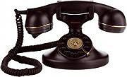 Brondi VINTAGE 10 NERO Telefono fisso a filo Retrò vintage