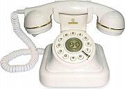 Brondi VINTAGE 20 BIANCO Telefono fisso a filo
