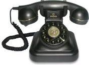 Brondi Vintage 20 Telefono fisso a filo Tiptel  nero