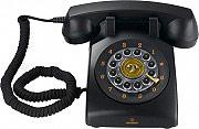 Brondi Telefono fisso a filo Vintage 30 col. nero
