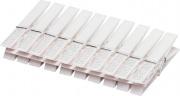 Bronzo BLGHU2232 Mollette Per Panni Bianche Pezzi 10 Confezioni 24