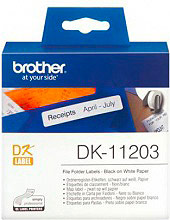 Brother DK11203 Etichette Multiuso 17x 87 mm