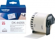 Brother DK-44205 Nastro di carta rimovibile bianco