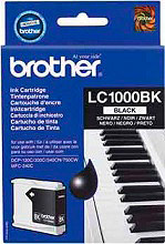 Brother LC1000 BK Cartuccia Inkjet Originale Black Fax e MFP