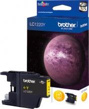 Brother LC1220Y Cartuccia Originale Inkjet colore Giallo per modello DCP-J525W LC-1220Y