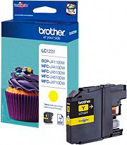 Brother LC123Y Cartuccia Originale Inkjet per Stampante Brother MFC-J4510DW