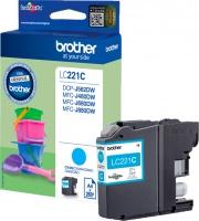 Brother LC221C Cartuccia Originale Inkjet colore Ciano per modello DCP-J562DW - LC-221C