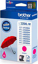 Brother LC225XLM Cartuccia Originale Inkjet Magenta Stampante Brother MFCJ4620DW