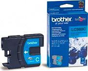 Brother Cartuccia Inkjet Originale Ciano per MFP LC980 C