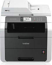 Brother Stampante multifunzione a Colori A4 stampa Copia Fax Scanner MFC-9140CDN