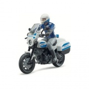Bruder 62731 Modellino moto Ducati Scrambler Polizia